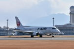 ワイエスさんが、鹿児島空港で撮影したジェイ・エア ERJ-170-100 (ERJ-170STD)の航空フォト(飛行機 写真・画像)