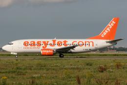 Hariboさんが、アムステルダム・スキポール国際空港で撮影したイージージェット 737-36Qの航空フォト(飛行機 写真・画像)