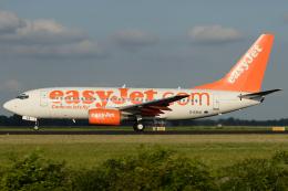 Hariboさんが、アムステルダム・スキポール国際空港で撮影したイージージェット 737-73Vの航空フォト(飛行機 写真・画像)