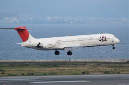 omi3さんが、関西国際空港で撮影した日本航空 MD-81 (DC-9-81)の航空フォト(飛行機 写真・画像)
