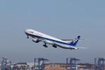 KAZFLYERさんが、羽田空港で撮影した全日空 777-381/ERの航空フォト(飛行機 写真・画像)