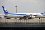 レドームさんが、羽田空港で撮影した全日空 777-381/ERの航空フォト(飛行機 写真・画像)