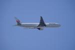 レドームさんが、羽田空港で撮影した日本航空 777-346/ERの航空フォト(飛行機 写真・画像)