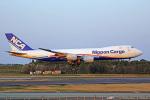 ちゃぽんさんが、成田国際空港で撮影した日本貨物航空 747-8KZF/SCDの航空フォト(飛行機 写真・画像)