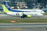 虎太郎19さんが、福岡空港で撮影したソラシド エア 737-86Nの航空フォト(飛行機 写真・画像)