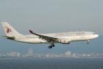 omi3さんが、関西国際空港で撮影したカタール航空 A330-202の航空フォト(飛行機 写真・画像)