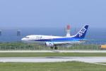 Shin-chaさんが、那覇空港で撮影したANAウイングス 737-54Kの航空フォト(飛行機 写真・画像)