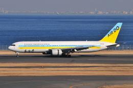 ポン太さんが、羽田空港で撮影したAIR DO 767-33A/ERの航空フォト(飛行機 写真・画像)