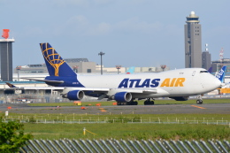 LEGACY-747さんが、成田国際空港で撮影したアトラス航空 747-48EF/SCDの航空フォト(飛行機 写真・画像)