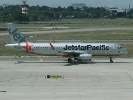 マッペケさんが、タンソンニャット国際空港で撮影したジェットスター・パシフィック A320-232の航空フォト(飛行機 写真・画像)