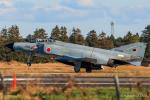 RUNWAY23.TADAさんが、茨城空港で撮影した航空自衛隊 F-4EJ Kai Phantom IIの航空フォト(飛行機 写真・画像)