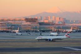 メンチカツさんが、羽田空港で撮影したブリティッシュ・エアウェイズ 777-236/ERの航空フォト(飛行機 写真・画像)