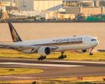RUNWAY23.TADAさんが、羽田空港で撮影したシンガポール航空 777-312/ERの航空フォト(飛行機 写真・画像)