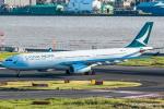 RUNWAY23.TADAさんが、羽田空港で撮影したキャセイパシフィック航空 A330-343Xの航空フォト(飛行機 写真・画像)