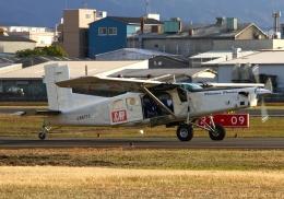 LOTUSさんが、八尾空港で撮影したアイ・ティー・シー・アエロスペース PC-6/B2-H4 Turbo-Porterの航空フォト(飛行機 写真・画像)