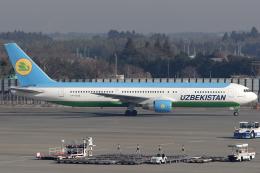 Hariboさんが、成田国際空港で撮影したウズベキスタン航空 767-33P/ERの航空フォト(飛行機 写真・画像)