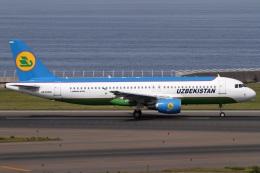 Hariboさんが、中部国際空港で撮影したウズベキスタン航空 A320-214の航空フォト(飛行機 写真・画像)