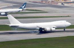 Asamaさんが、香港国際空港で撮影したカリッタ エア 747-4KZF/SCDの航空フォト(飛行機 写真・画像)