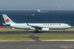 RUNWAY23.TADAさんが、羽田空港で撮影したエア・カナダ A330-343Xの航空フォト(飛行機 写真・画像)