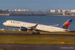 RUNWAY23.TADAさんが、羽田空港で撮影したデルタ航空 A350-941の航空フォト(飛行機 写真・画像)