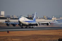 LEGACY-747さんが、伊丹空港で撮影した全日空 747-481(D)の航空フォト(飛行機 写真・画像)