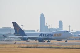 LEGACY-747さんが、成田国際空港で撮影したアトラス航空 747-47UF/SCDの航空フォト(飛行機 写真・画像)