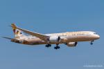RUNWAY23.TADAさんが、羽田空港で撮影したエティハド航空 787-9の航空フォト(飛行機 写真・画像)