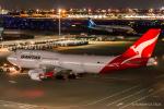 RUNWAY23.TADAさんが、羽田空港で撮影したカンタス航空 747-438/ERの航空フォト(飛行機 写真・画像)