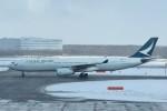 T.Kawaseさんが、新千歳空港で撮影したキャセイパシフィック航空 A330-342の航空フォト(飛行機 写真・画像)