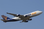 Hiro-hiroさんが、成田国際空港で撮影したアトラス航空 747-412F/SCDの航空フォト(飛行機 写真・画像)
