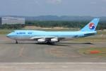 メンチカツさんが、新千歳空港で撮影した大韓航空 747-4B5の航空フォト(飛行機 写真・画像)