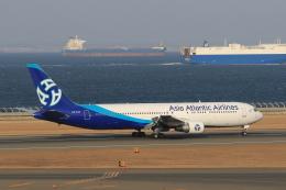 わんだーさんが、中部国際空港で撮影したアジア・アトランティック・エアラインズ 767-322/ERの航空フォト(飛行機 写真・画像)