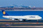 RUNWAY23.TADAさんが、羽田空港で撮影したルフトハンザドイツ航空 747-830の航空フォト(飛行機 写真・画像)