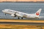 RUNWAY23.TADAさんが、羽田空港で撮影したJALエクスプレス 737-846の航空フォト(飛行機 写真・画像)