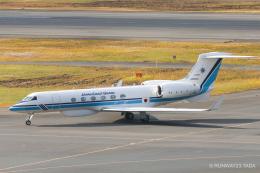 RUNWAY23.TADAさんが、羽田空港で撮影した海上保安庁 G-V Gulfstream Vの航空フォト(飛行機 写真・画像)