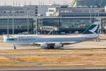 RUNWAY23.TADAさんが、羽田空港で撮影したキャセイパシフィック航空 747-467の航空フォト(飛行機 写真・画像)