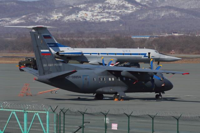 Hikobouzさんが、ウラジオストク空港で撮影したロシア海軍 An-140-100の航空フォト(飛行機 写真・画像)