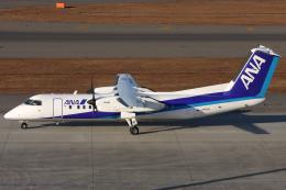 Hariboさんが、中部国際空港で撮影したエアーニッポンネットワーク DHC-8-314Q Dash 8の航空フォト(飛行機 写真・画像)