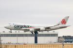 RUNWAY23.TADAさんが、成田国際空港で撮影したカーゴルクス・イタリア 747-4R7F/SCDの航空フォト(飛行機 写真・画像)