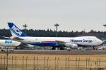 RUNWAY23.TADAさんが、成田国際空港で撮影した日本貨物航空 747-8KZF/SCDの航空フォト(飛行機 写真・画像)