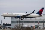 RUNWAY23.TADAさんが、成田国際空港で撮影したデルタ航空 767-3P6/ERの航空フォト(飛行機 写真・画像)