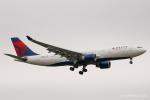 RUNWAY23.TADAさんが、成田国際空港で撮影したデルタ航空 A330-223の航空フォト(飛行機 写真・画像)