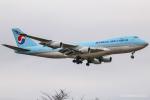 RUNWAY23.TADAさんが、成田国際空港で撮影した大韓航空 747-4B5F/SCDの航空フォト(飛行機 写真・画像)