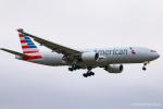 RUNWAY23.TADAさんが、成田国際空港で撮影したアメリカン航空 777-223/ERの航空フォト(飛行機 写真・画像)
