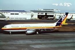 tassさんが、羽田空港で撮影した日本エアシステム A300B4-203の航空フォト(飛行機 写真・画像)