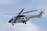 yabyanさんが、名古屋飛行場で撮影した中日本航空 AS332L1 Super Pumaの航空フォト(飛行機 写真・画像)