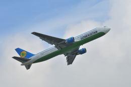 ポン太さんが、成田国際空港で撮影したウズベキスタン航空 767-33P/ERの航空フォト(飛行機 写真・画像)