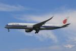★azusa★さんが、シンガポール・チャンギ国際空港で撮影した中国国際航空 A350-941の航空フォト(飛行機 写真・画像)