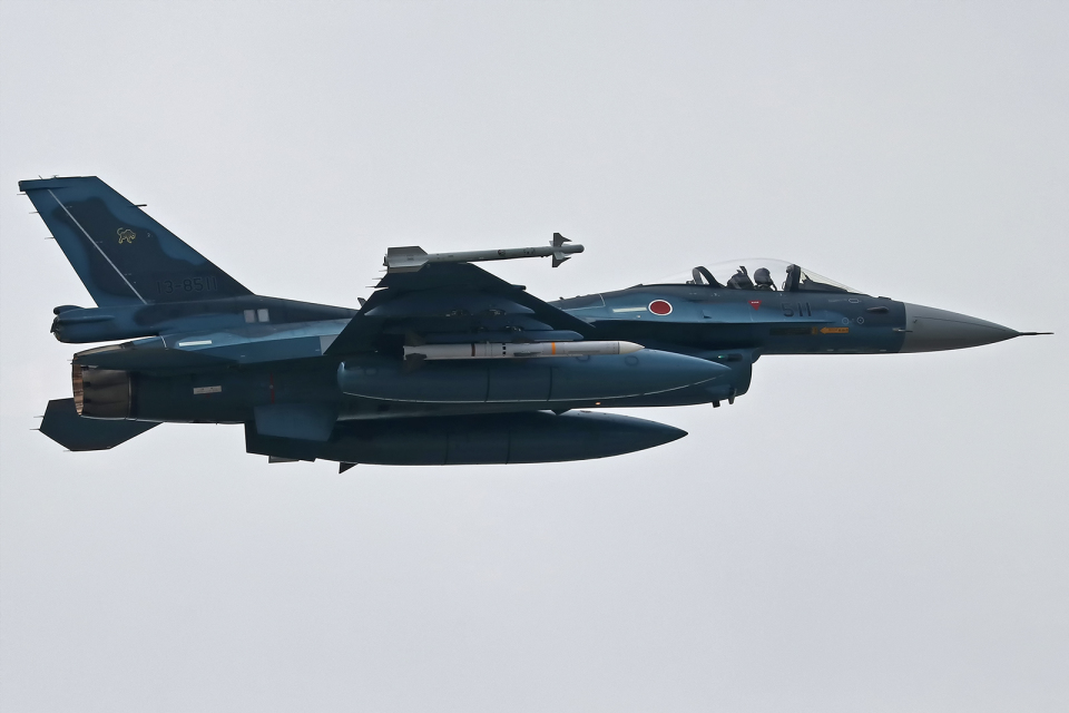 Double_Hさんの航空自衛隊 Mitsubishi F-2A (13-8511) 航空フォト