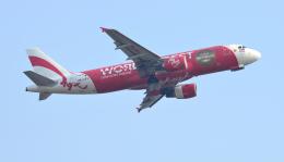 kenko.sさんが、シェムリアップ国際空港で撮影したエアアジア A320-214の航空フォト(飛行機 写真・画像)